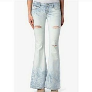 Hudson Mia Five Pocket Flare Jeans Size 29